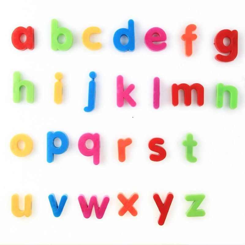 Small Alphabet Letters List 001