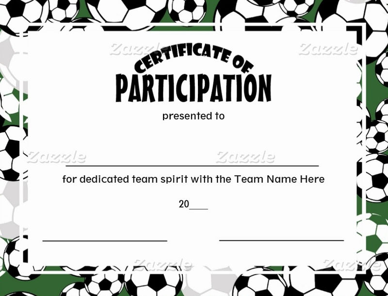 Soccer Certificate Templates Sample 001
