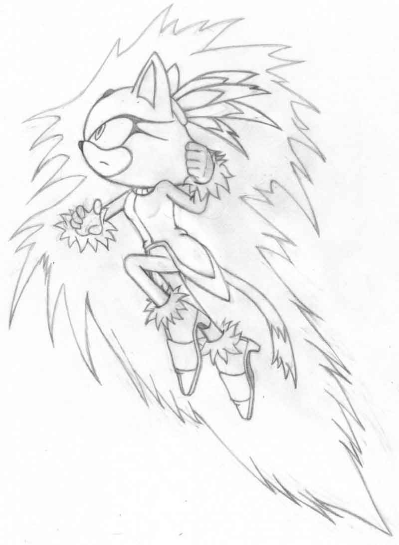 Sonic Coloring Pages For Kids Free