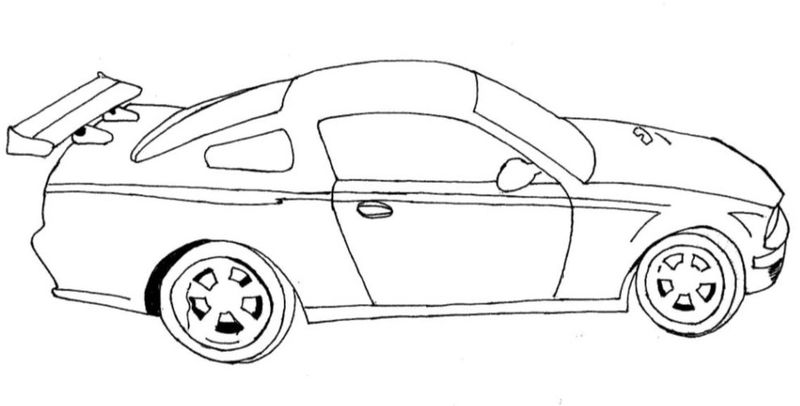 Sports Car Coloring Pages | FREE COLORING PAGES