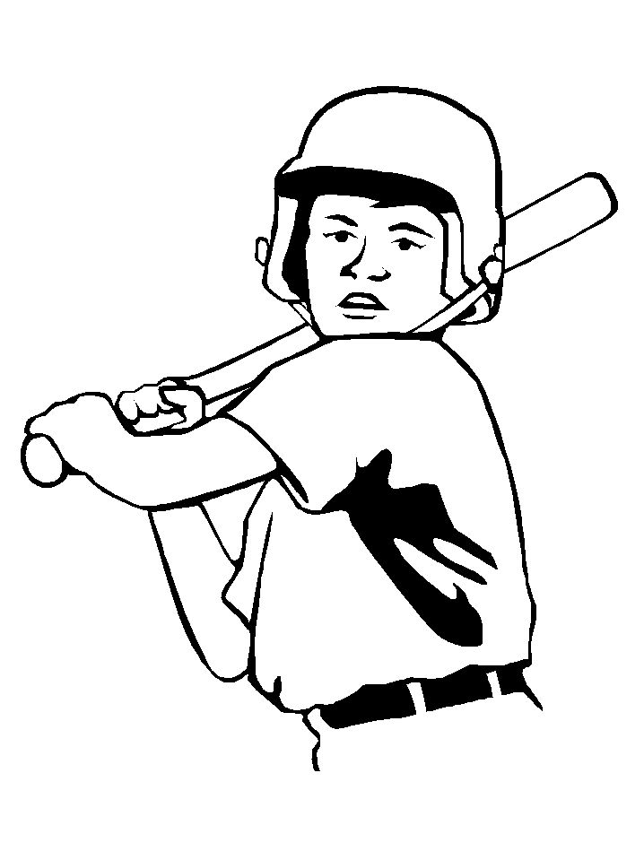 Sports Coloring Pages For Boys