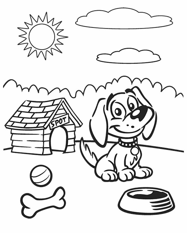 Spot Dog Coloring Pages