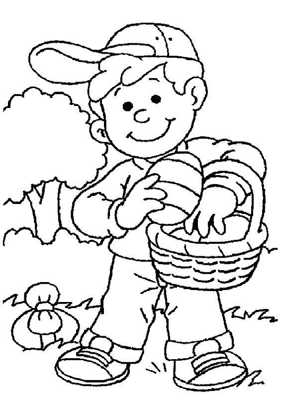 Spring Coloring Pages Boys