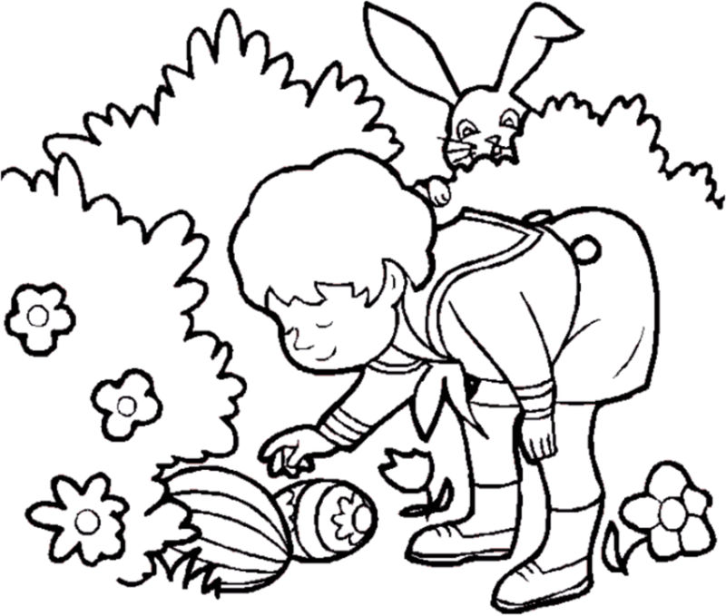 Spring Coloring Pictures 1 001