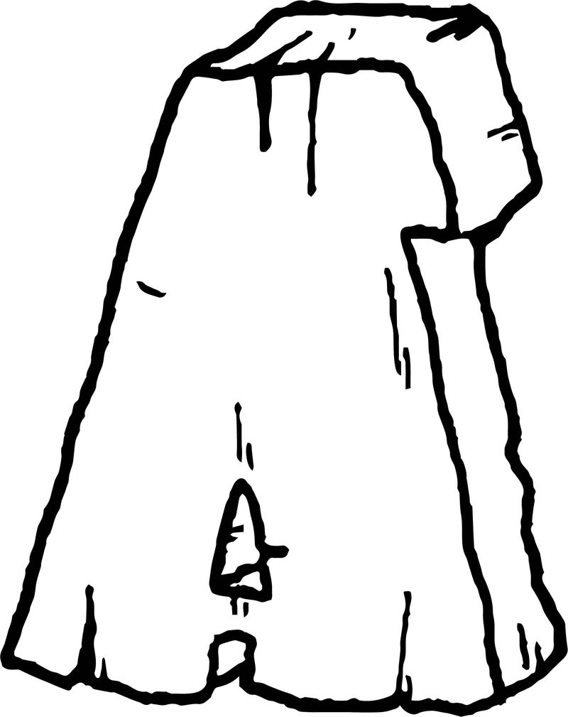 Stone A Letter Free Coloring Page