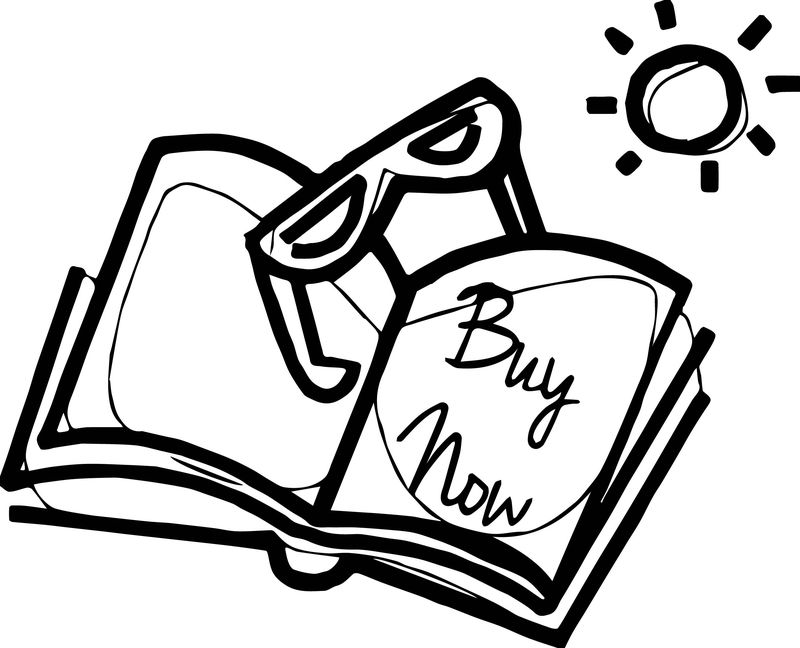 Summer Buy Now Coloring Page