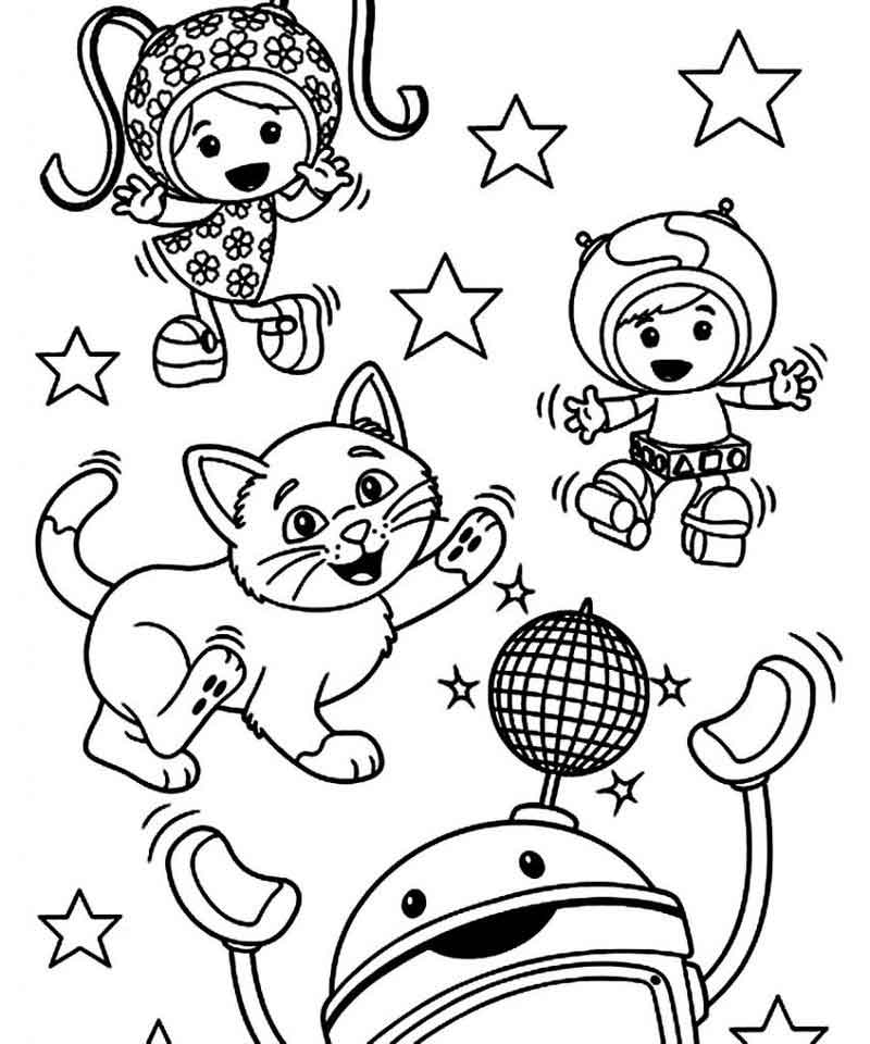 Team Umizoomi Coloring Pages For Kids