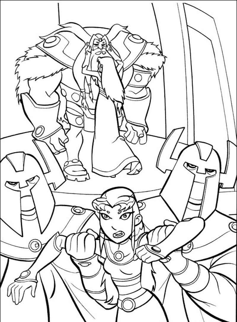 Teen Titans Coloring Pages (1)