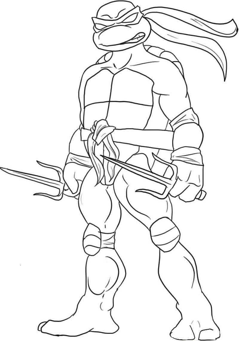 Teenage Mutant Ninja Turtles Coloring Pictures