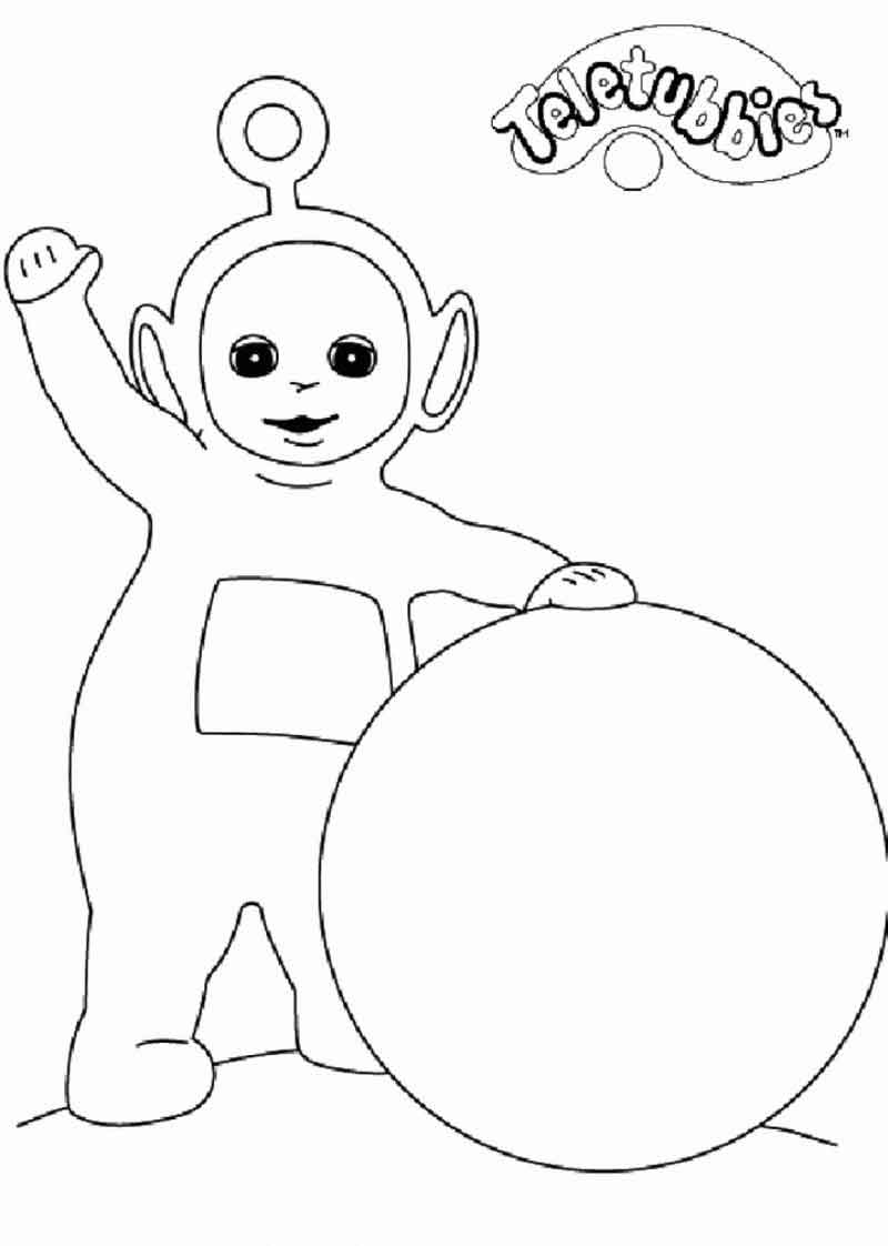 Teletubbies Coloring Pages For Kids