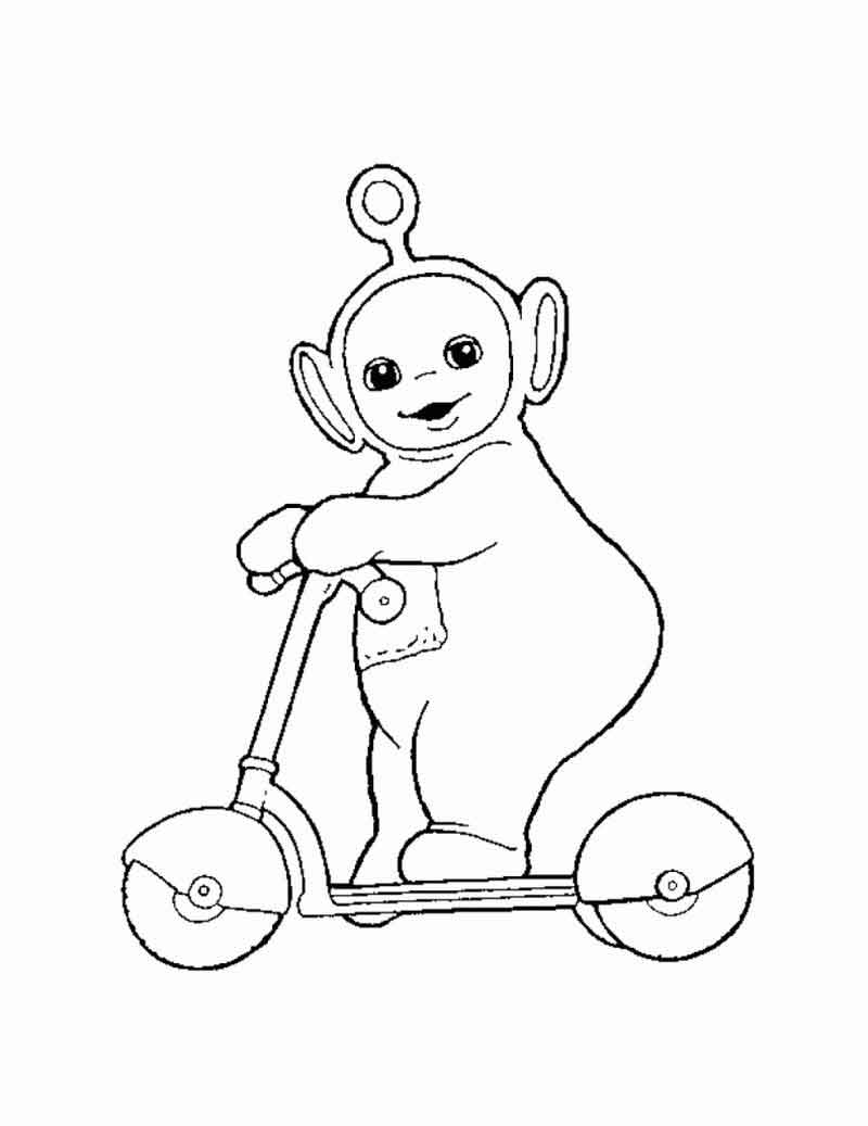 Teletubbies Coloring Pages Photos