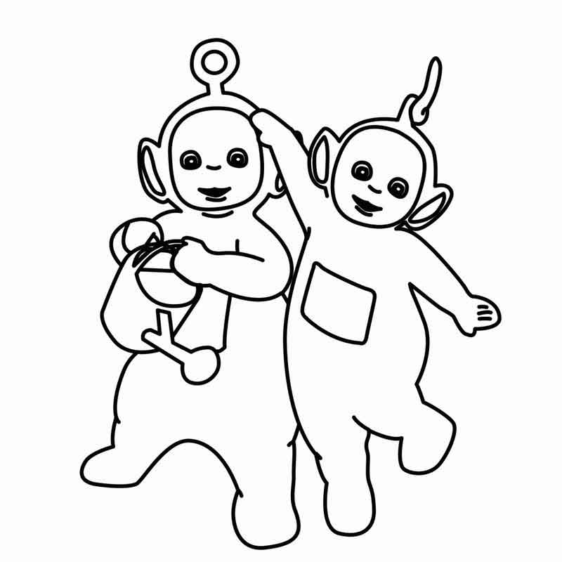 Teletubbies Coloring Pages Printable