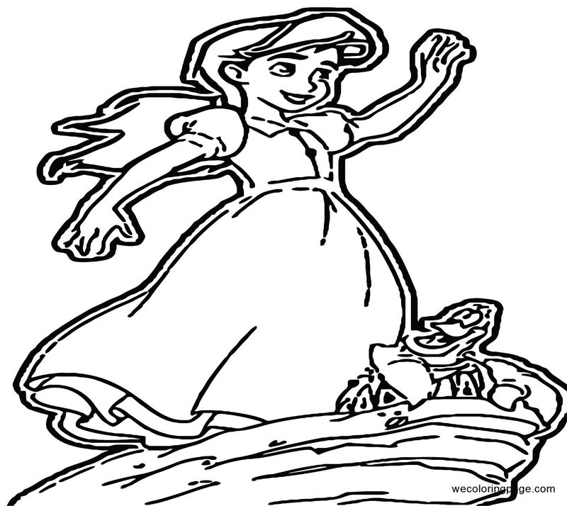 The Little Mermaid Ariels Beginning Coloring Pages 42
