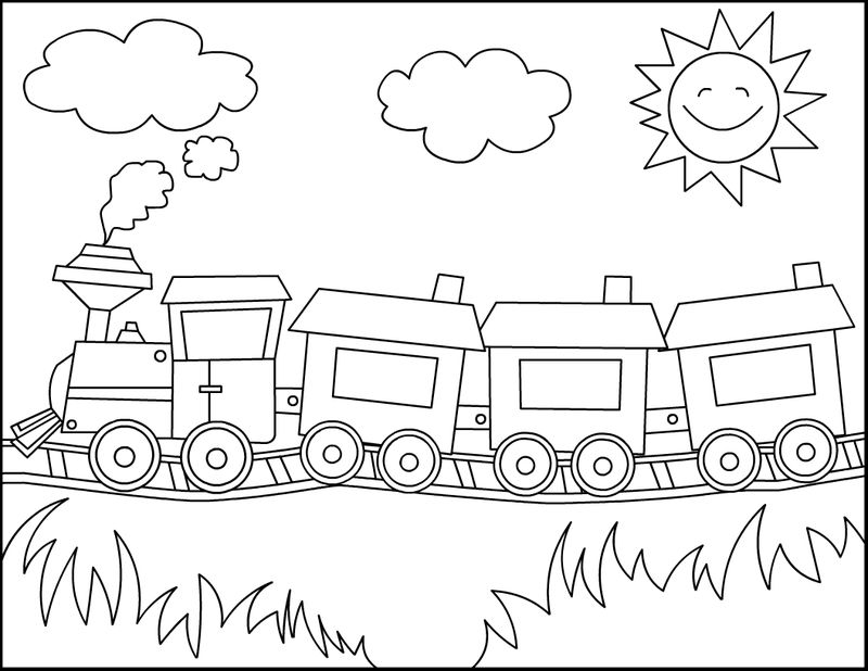 Thomas Train Coloring Pages