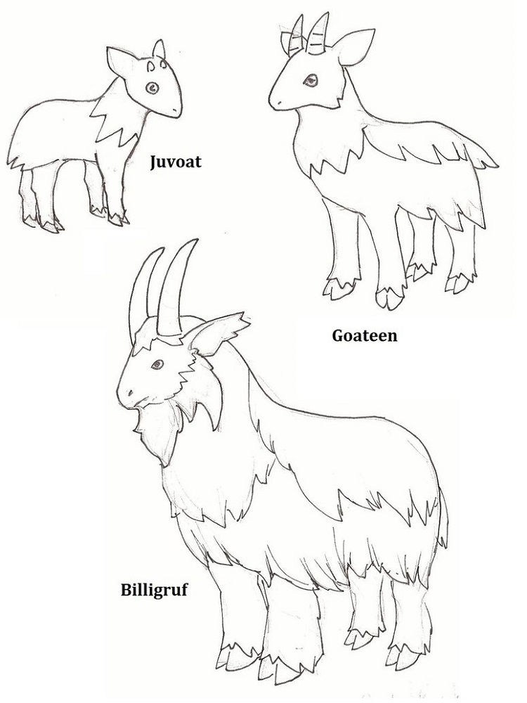 Three Billy Goats Gruff Activities Coloring