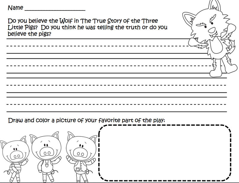 image about Three Little Pigs Printable named 3 Minimal Pigs Worksheets 2nd Quality No cost COLORING Webpages