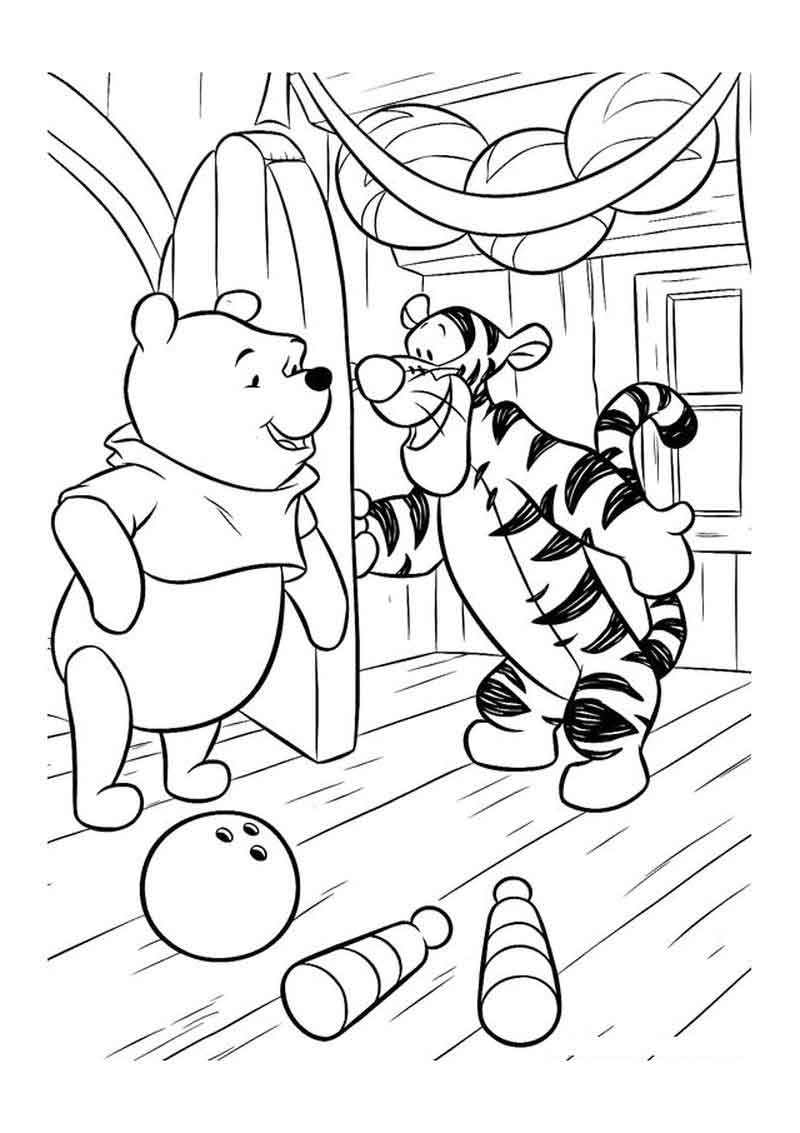 Tigger Coloring Pages Pictures