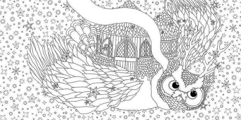Time Garden Magical Journey Coloring Book To Print