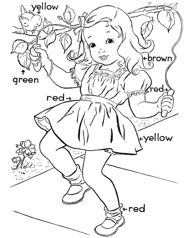 Toddler Activity Pages Coloring
