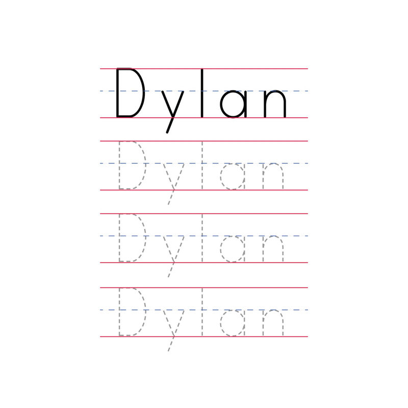 Tracer Pages For Names Dylan