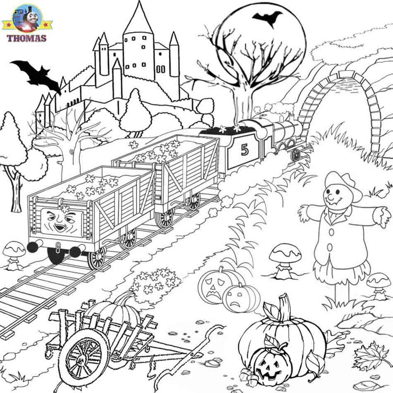 Train Coloring Pages For Adult
