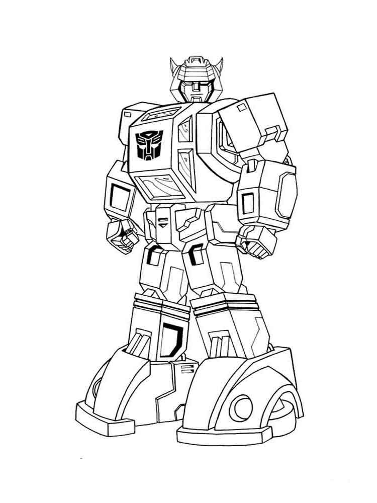 Transformer Coloring Page To Print