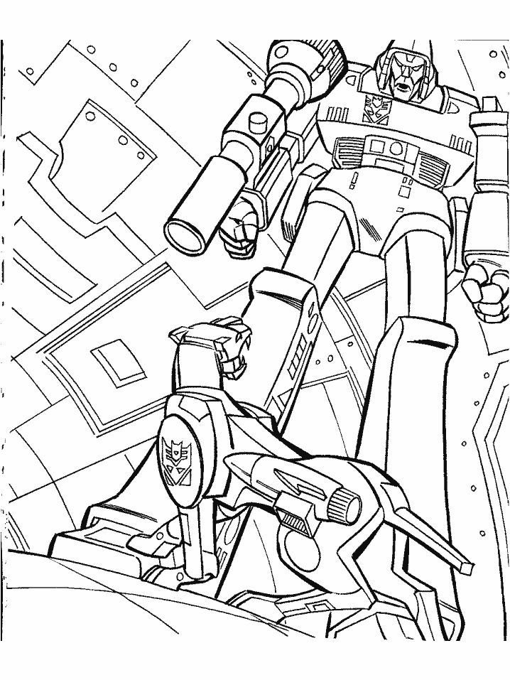 Transformer Coloring Pages To Print