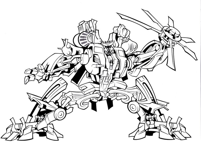 Transformer Print And Color