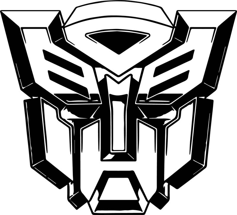 Transformers Autobot Robot Coloring Page