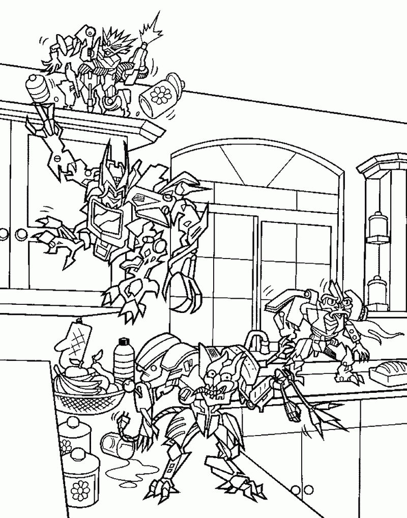 Transformers Coloring Pages 2