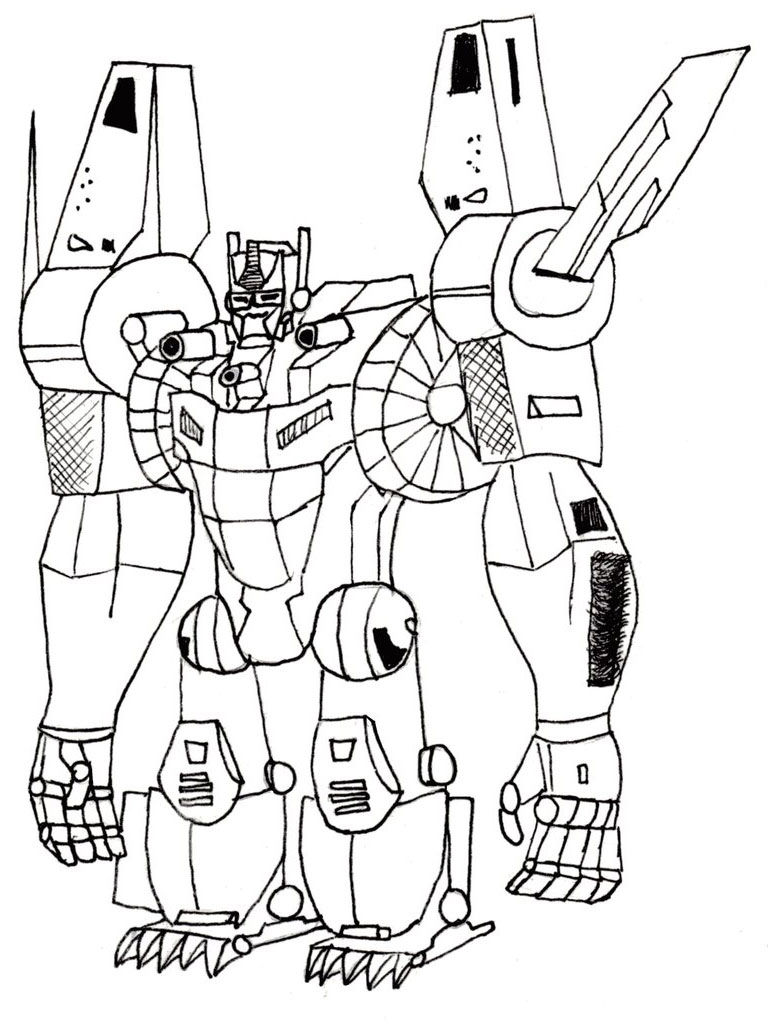 Transformers printable coloring pages1