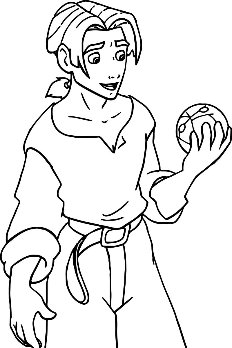 Treasure Planet Sphere Coloring Pages