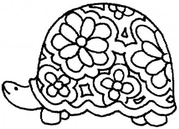 Turtle Coloring Pages Coloringbest4