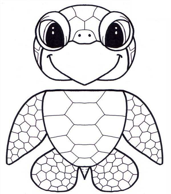 Turtle Coloring Pages Coloringbest7