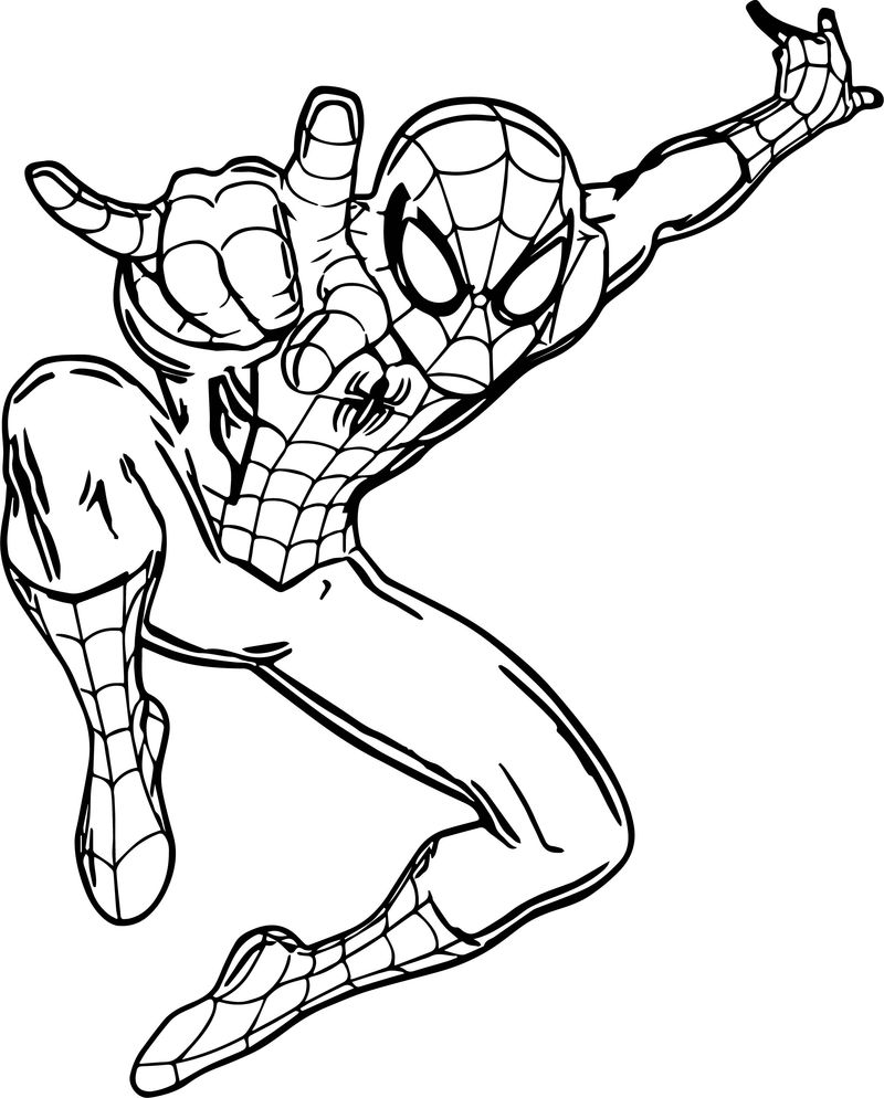 Ultimate Spider Man Giant Wall Decal Coloring Page