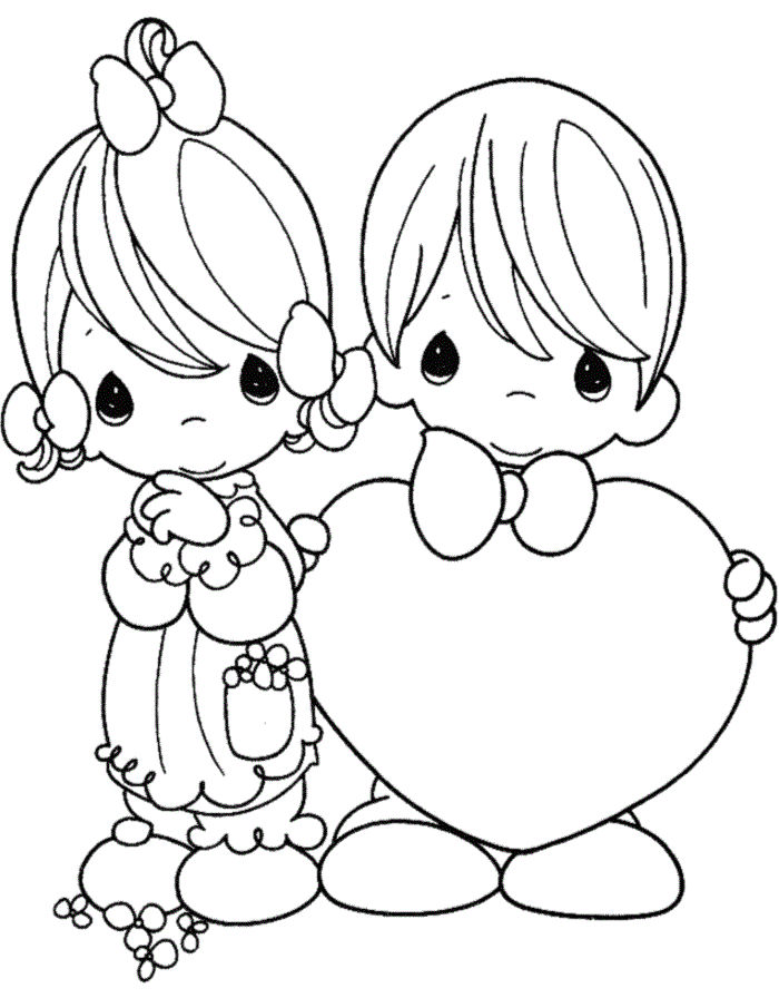 Valentine S Day Coloring Pages For Kids