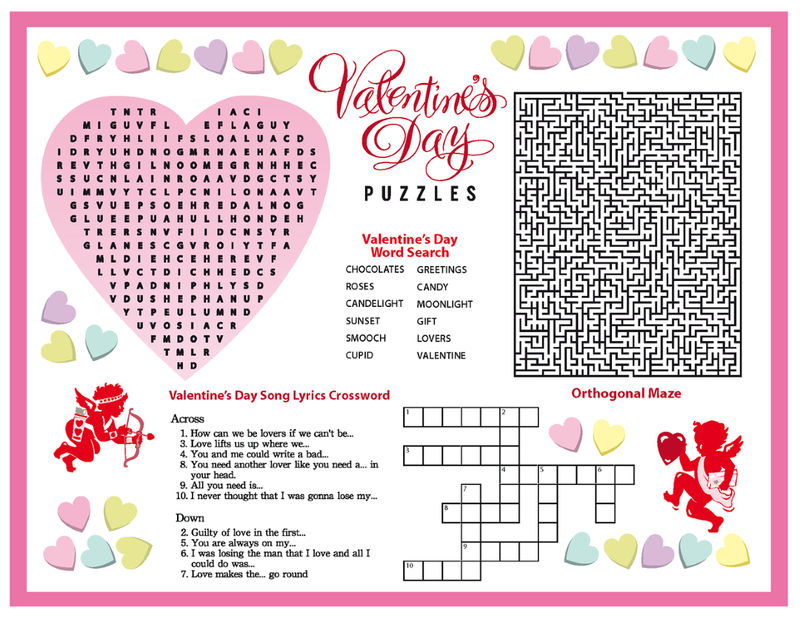 Valentines Day Puzzles