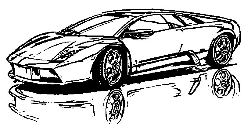 Vehicle Car Coloring Page
