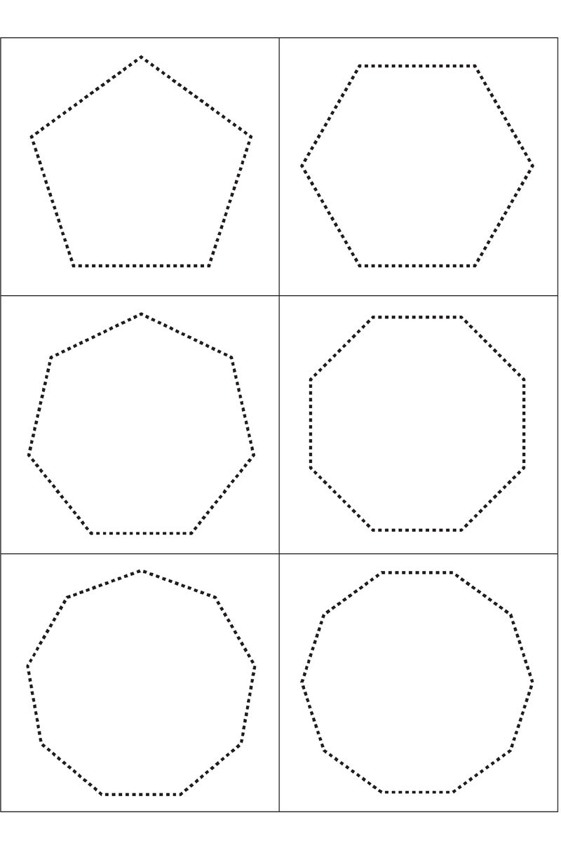 Worksheets For 3 Year Olds Shapes