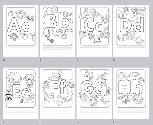 Worksheets For 4 Year Olds Abc 001