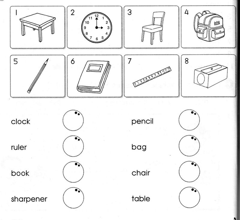 Worksheets That Work Matching