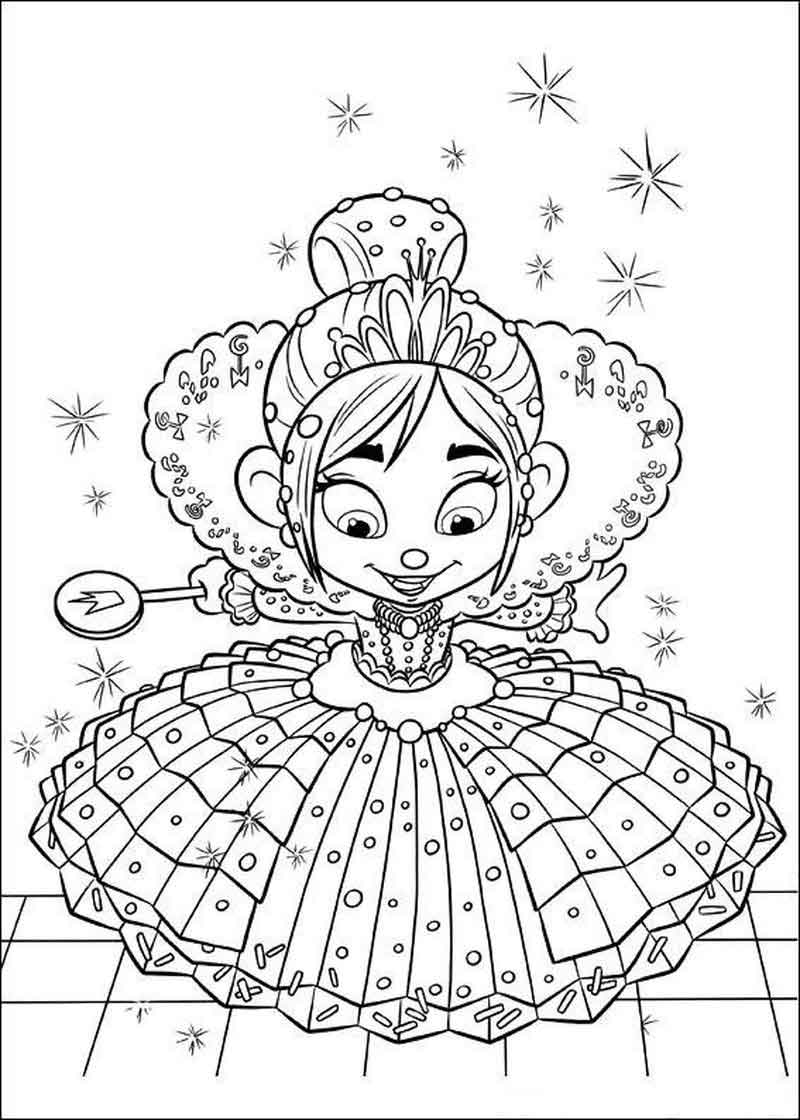Wreck It Ralph Coloring Pages Pictures