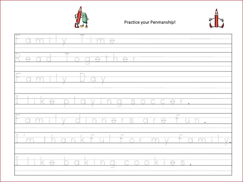 Writing Worksheets For Kids Tracing For Tracing
