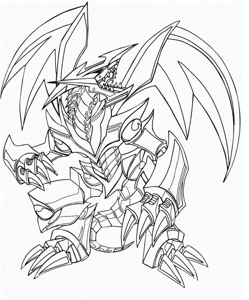 Yugioh Coloring Pages Images