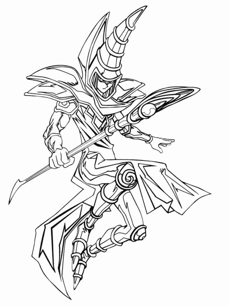 Yugioh Coloring Pages Pictures