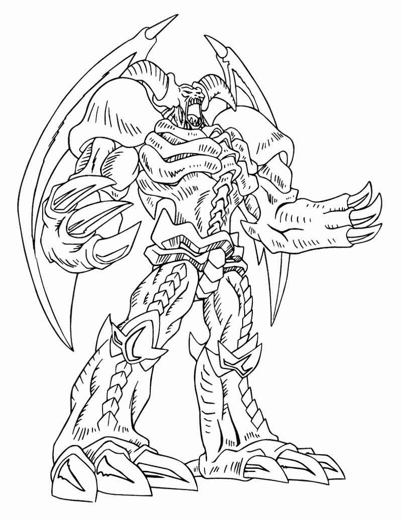Yugioh Coloring Pages Printable