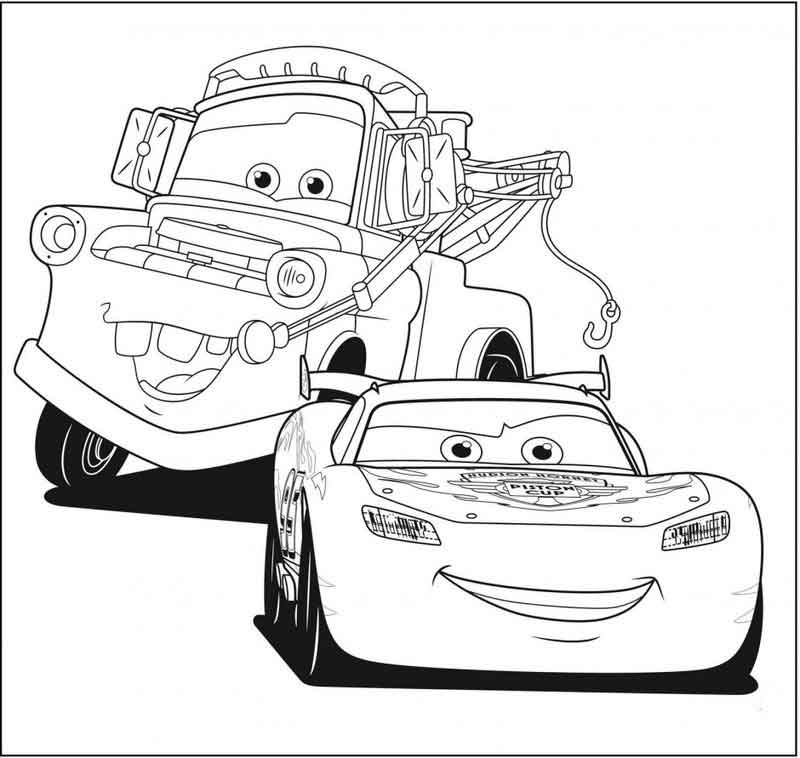 lightning mcqueen coloring pages  free coloring pages